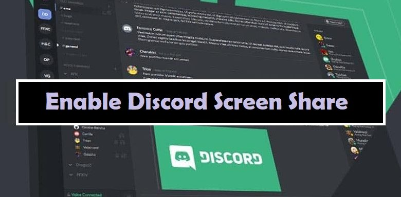 How to Enable Discord Screen Share?