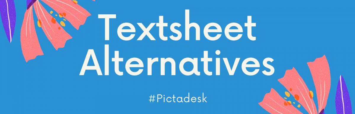 5 Best Textsheet Alternatives Sites